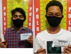 Dua Pengedar Sabu di  Kecamatan Laung Tuhup di Amankan Polisi