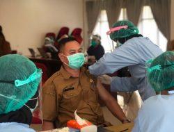 Cegah Virus Corona, Ratusan Pejabat Eselon Mura Jalani Vaksinasi