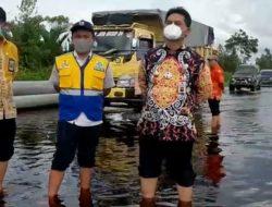 Banjir di Bukit Rawi Terus Dipantau DPURP