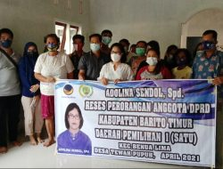 Anggota DPRD Bartim Adolina Sendol Lanjutkan Reses di Desa Tewah Pupuh Kecamatan Benua Lima
