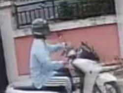 Seorang Wanita Terekam CCTV. Diduga Hendak Merampok
