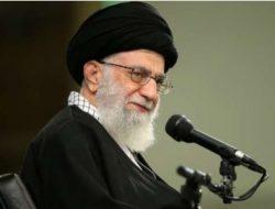 Ayatollah Khamenei Sebut Israel Bukan Negara Melainkan Basis Teroris