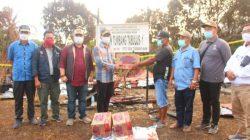 Bupati Perdie Kunjungi Kecamatan Seribu Riam dan Salurkan Bantuan
