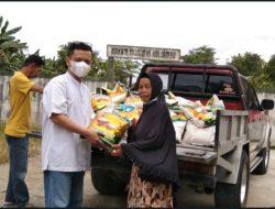 Taufik Nugraha Salurkan 600 Sak Beras Menjelang Hari Raya Idul Fitri