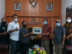 Kejari Barito Utara Silaturahmi Dengan Awak Media