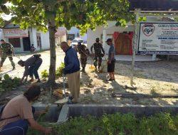 Denpom Pangkalanbun Ikut Bersih Gereja