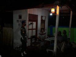 Denpom Kapuas Gelar Komsos Malam Hari