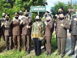Mantan Jaksa Agung R Soerapto Sampai Baharuddin Lopa Diabadikan Menjadi Nama Jalan di Barito Selatan