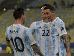 Di Maria Bawa Argentina Juara Copa America 2021, Messi Rengkuh Piala Internasional