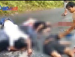 Kecelakaan Maut, 2 Remaja Laki-laki Meninggal di Tempat, 1 Kritis