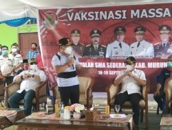Gubernur Kalteng Pantau Pelaksanaan Vaksin Pelajar di Murung Raya