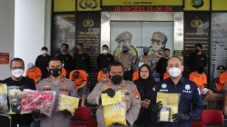 Kepolisian Tetapkan 9 Produsen dan Pengedar Tembakau Sintetis Jadi Tersangka