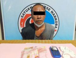 Jadi Target Operasi Pengedar Sabu 2,55 Gram Diamankan Polisi