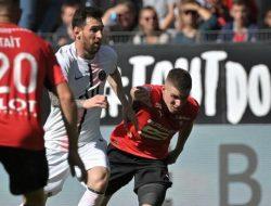Lionel Messi Mandul, PSG Dikalahkan Rennes 0-2