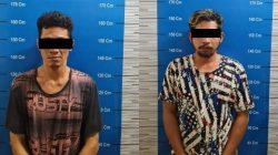 Dua Pengedar Sabu Disergap Polisi Saat akan Melakukan Transaksi