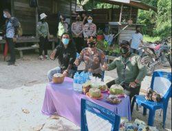 Kapolda Kunjungi Logpond PT BAK di Desa Kamawen