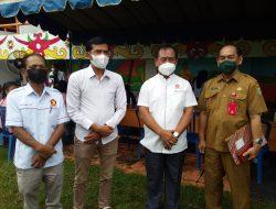 Partai Gerindra Bantu Pemerintah Daerah Percepat Vaksinasi di Barito Selatan