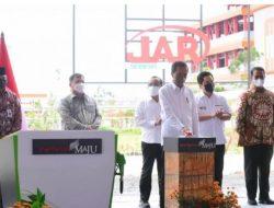 Presiden Joko Widodo Resmikan Pabrik Biodiesel PT Jhonlin Agro Raya di Kalimantan Selatan